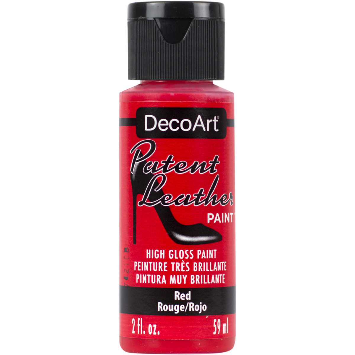 Patent Leather Paint 2oz-Red