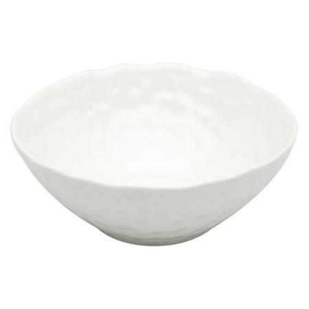 Vanilla Marble - Red Vanilla Vanilla Marble 9.5 in. Salad Bowl