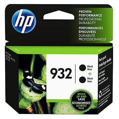 932 Series (HP 932 2-pack Black Original Ink Cartridges)