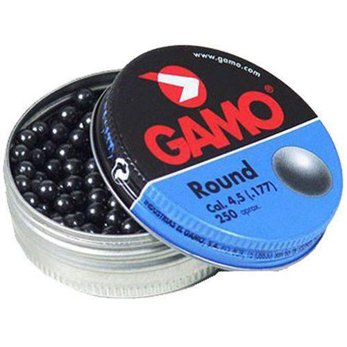 Gamo Round Ball BBs, Grey, 632032454 by GAMOOUTDOOR USA