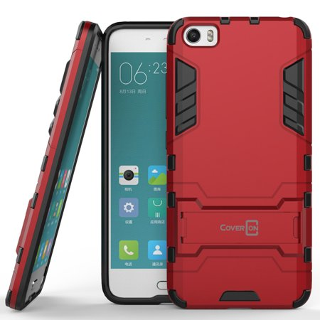 CoverON Xiaomi Mi 5 Case, Shadow Armor Series Hybrid Kickstand Phone