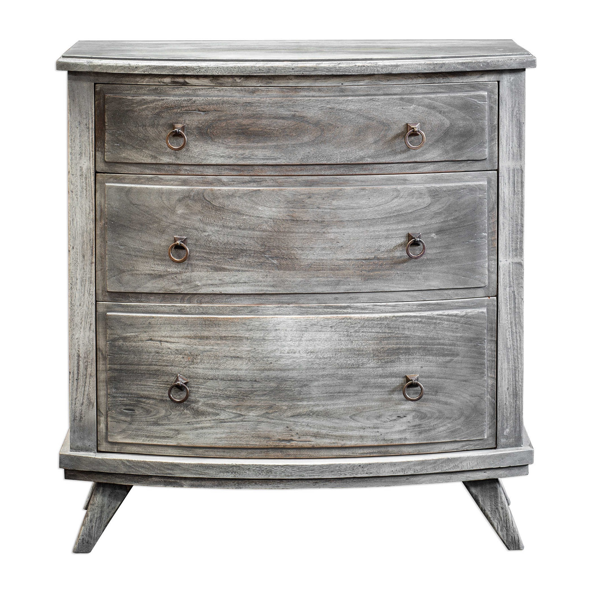"""34"""" Burnished Driftwood Accent Chest"""