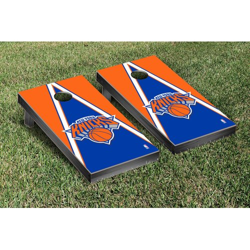 Victory Tailgate NBA Triangle Version Cornhole Game Set