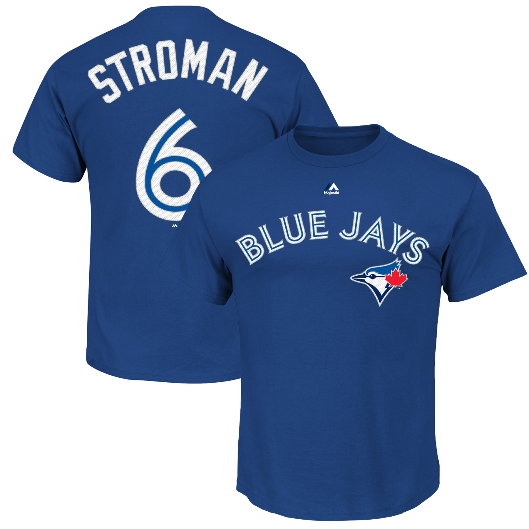 Marcus Stroman Toronto Blue Jays Majestic Youth Player Name & Number T-Shirt - Royal