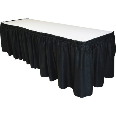Raffia Table Skirt Bulk (Tablemate Table Set Linen-Like Table Skirting, 29