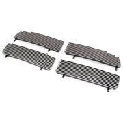 Paramount Restyling 32-0113 Replacement Billet Grille with 4 mm Horizontal Bars, 4 Piece