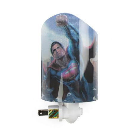 Westland Giftware Superman Acrylic Nightlight with Rotating Plug and On/Off (Westland Address)