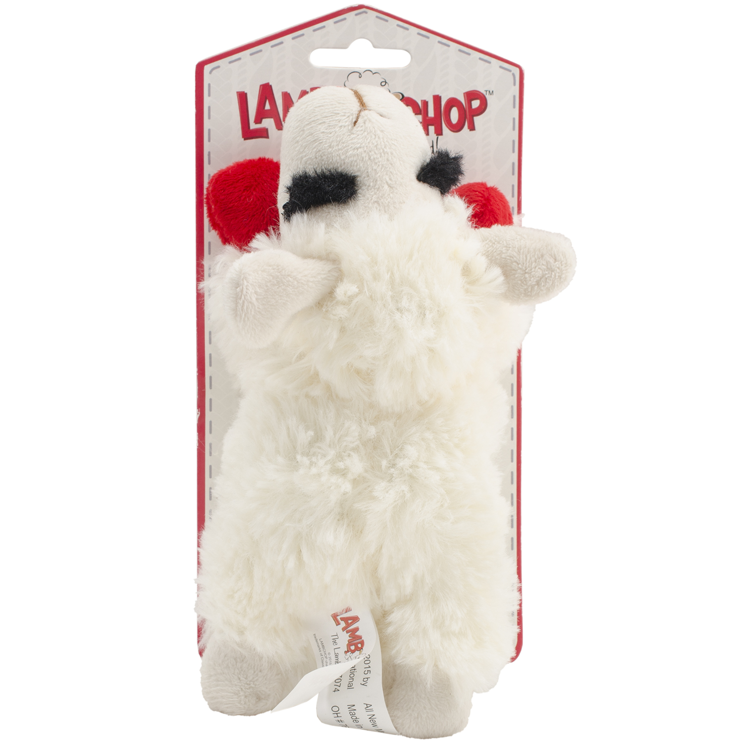 "Multipet Lamb Chop 7"" Toy-"
