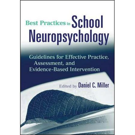 Best Practices in School Neuropsychology - eBook