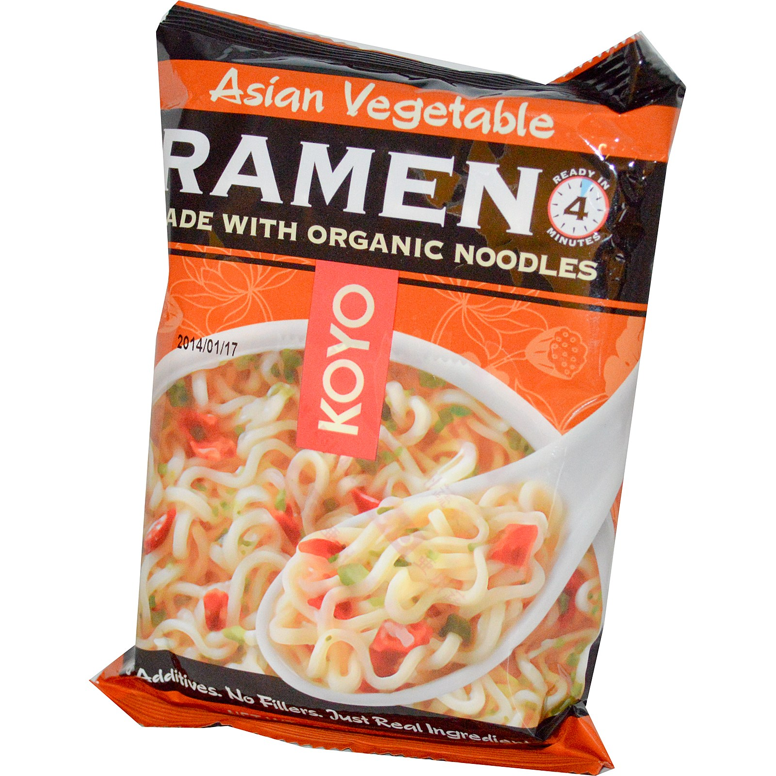Koyo Natural Foods, Asian Vegetable Ramen, 2.1 oz (pack of 1) by