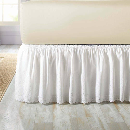 Better Homes and Gardens Eyelet Adjustable Bedskirt by Peking Handicraft