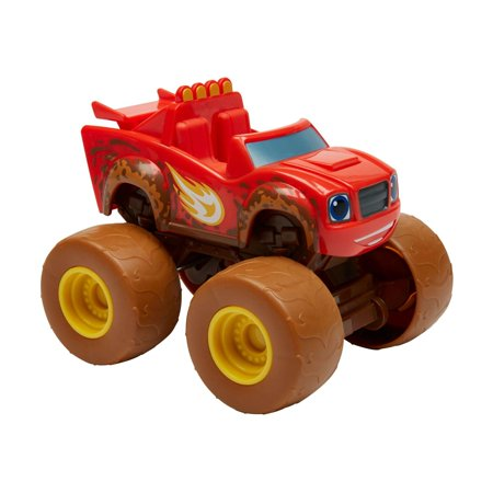 Nickelodeon Blaze And The Monster Machines Talking Mud Fest Blaze