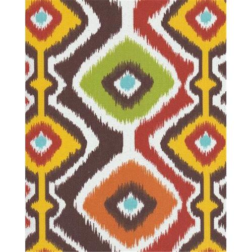 Orien IKMCHO4 Ikat Mesa 100 Percent Polyester Fabric, 54 inch x 4 Yards