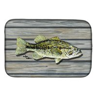 Fish Bass Small Mouth Dish Drying Mat