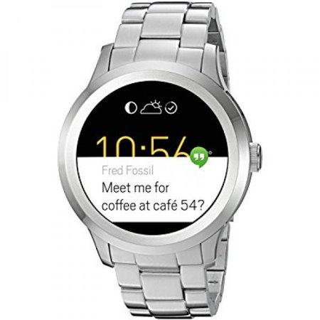 Fossil Q Founder Gen 2 Touchscreen Silver Stainless Steel Smartwatch