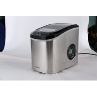 Merax Portable Counter Top Ice Maker Machine with 26lbs per 24 hours