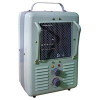TPI Corporation 188TASA Fan Forced Portable Heater ? Milk House Style Fan, 1500/1300W, 120V, Durable Winter Care Accessory. Genuine Heating Equipment