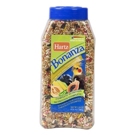 Hartz Mountain Bonanza Cockatiel Food 24 oz