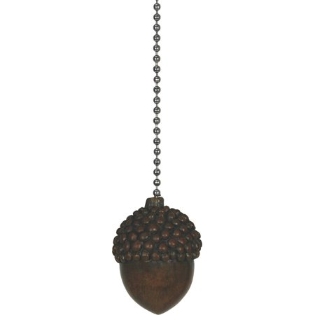 River's Edge Products Acorn Fan Pull, Connects to existing fan pull chain By Rivers Edge
