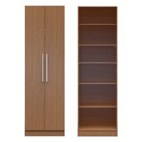 Manhattan Comfort Chelsea 2 Door Armoire