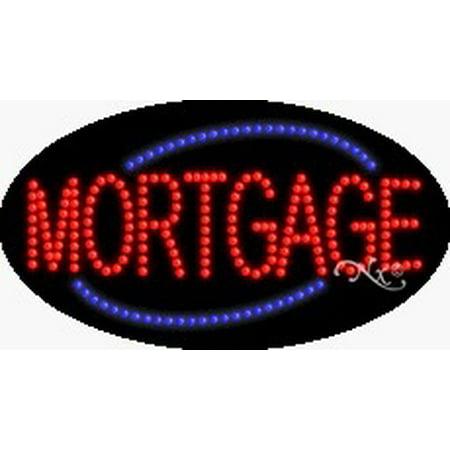 Mortgage Flashing   Animated Led Sign  High Impact  Energy Efficient