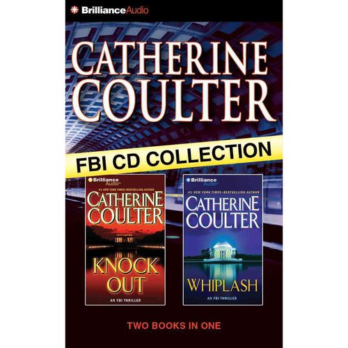 Catherine Coulter FBI CD Collection: Knockout / Whiplash