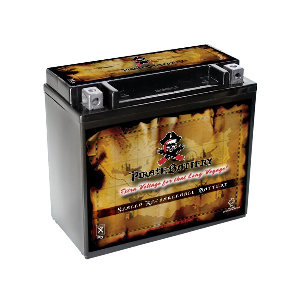 YTX20L-BS Jet Ski Battery for KAWASAKI JT900 STS, STX CC 97-'05 by