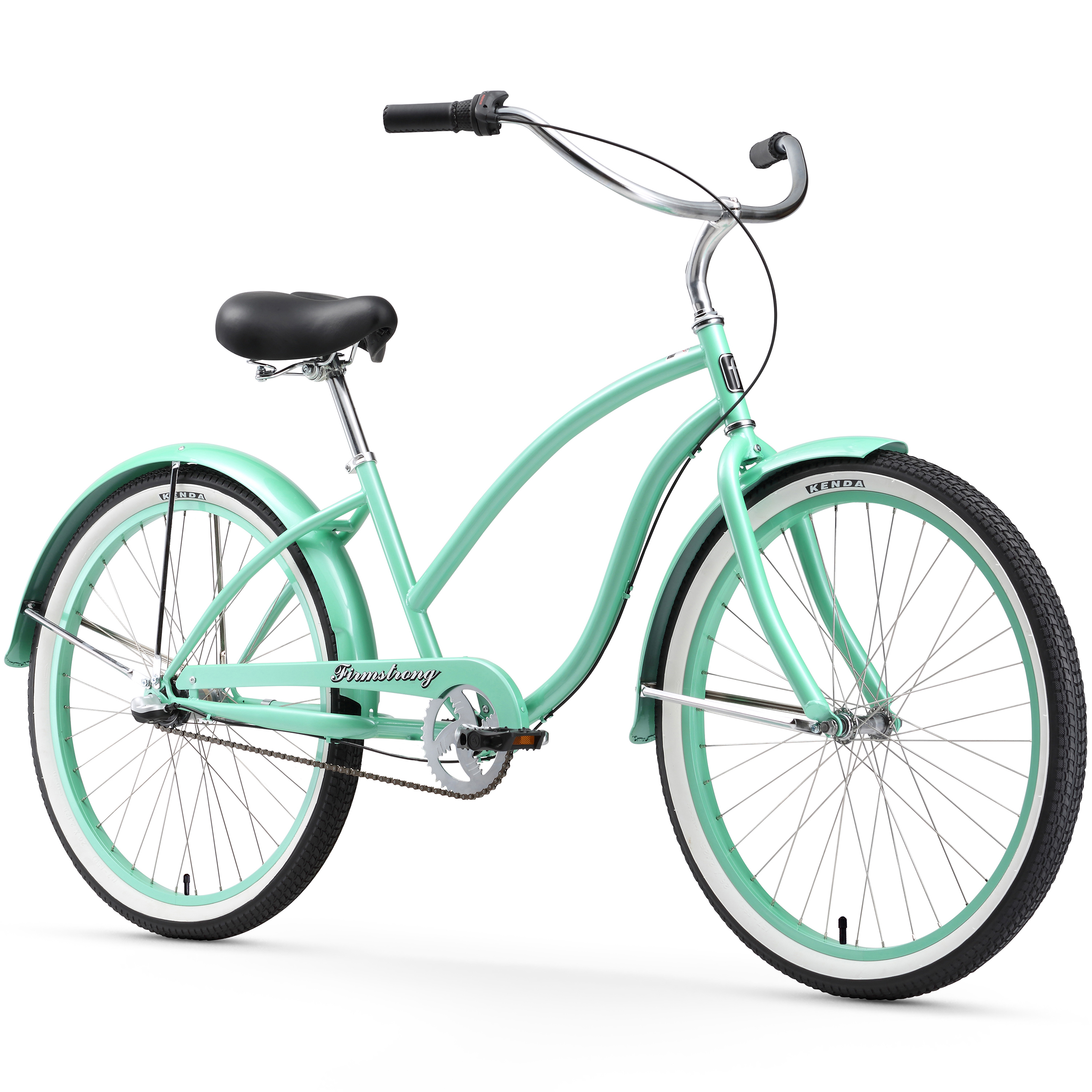"Firmstrong Chief Lady, 26"", Women's, Three Speed, Mint Green"