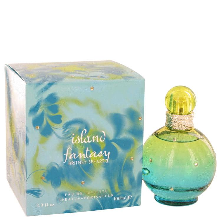 Britney Spears Island Fantasy Eau De Toilette Spray for Women 3.3 oz