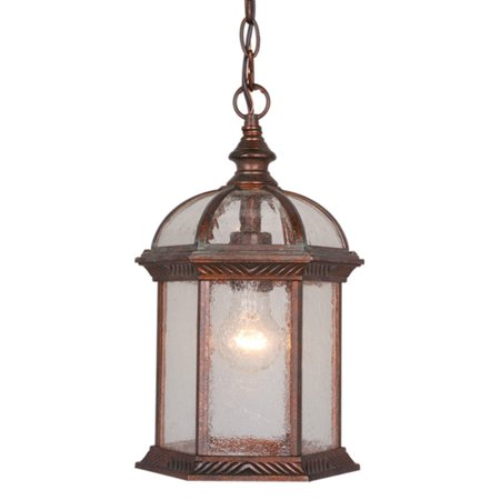 Vaxcel Chateau OD39786RBZ Outdoor Pendant Light