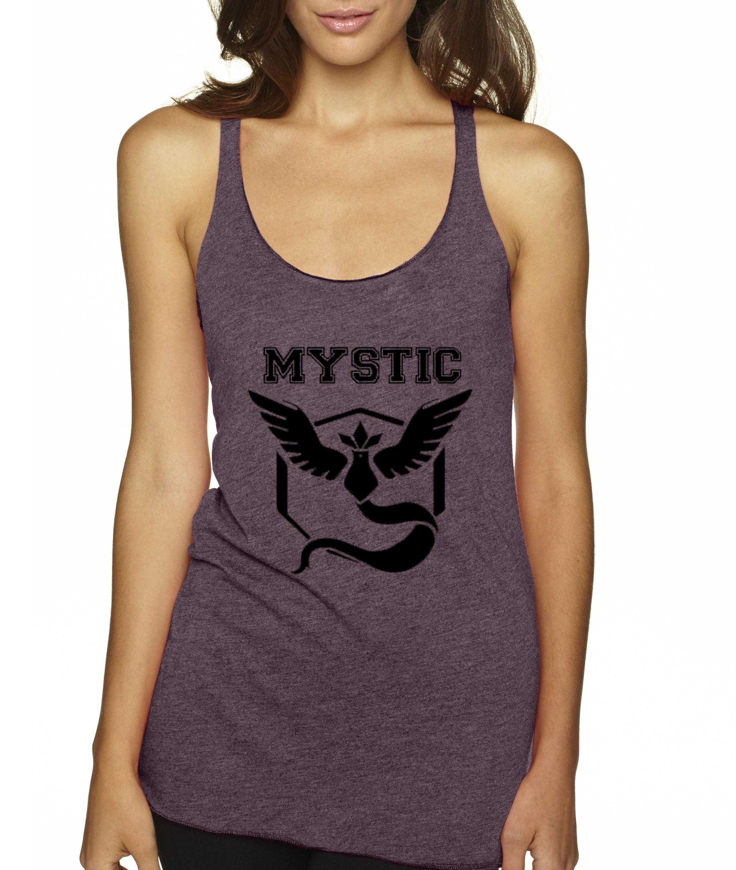 57ab1f13c4222 New Way - New Way 568 - Women s Tank-Top Team Mystic Pokemon Go Articuno -  Walmart.com