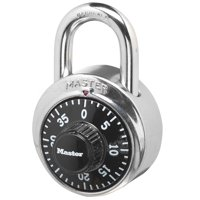 Master Lock Padlock 1500D Combination Dial, 1-7/8in (48mm) Wide
