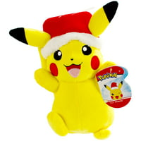 "Wicked Cool Pokemon Holiday Plush - 8"" Tall Super Soft and Cuddly"