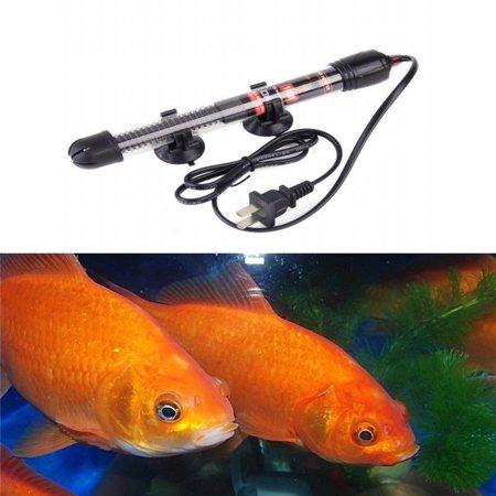 25/50/100W Aquarium Fish Tank Heater Submersible Water Temperature Rod