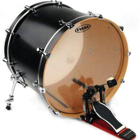 G2 Clear Bass Drum Head, 22 Inch, 22