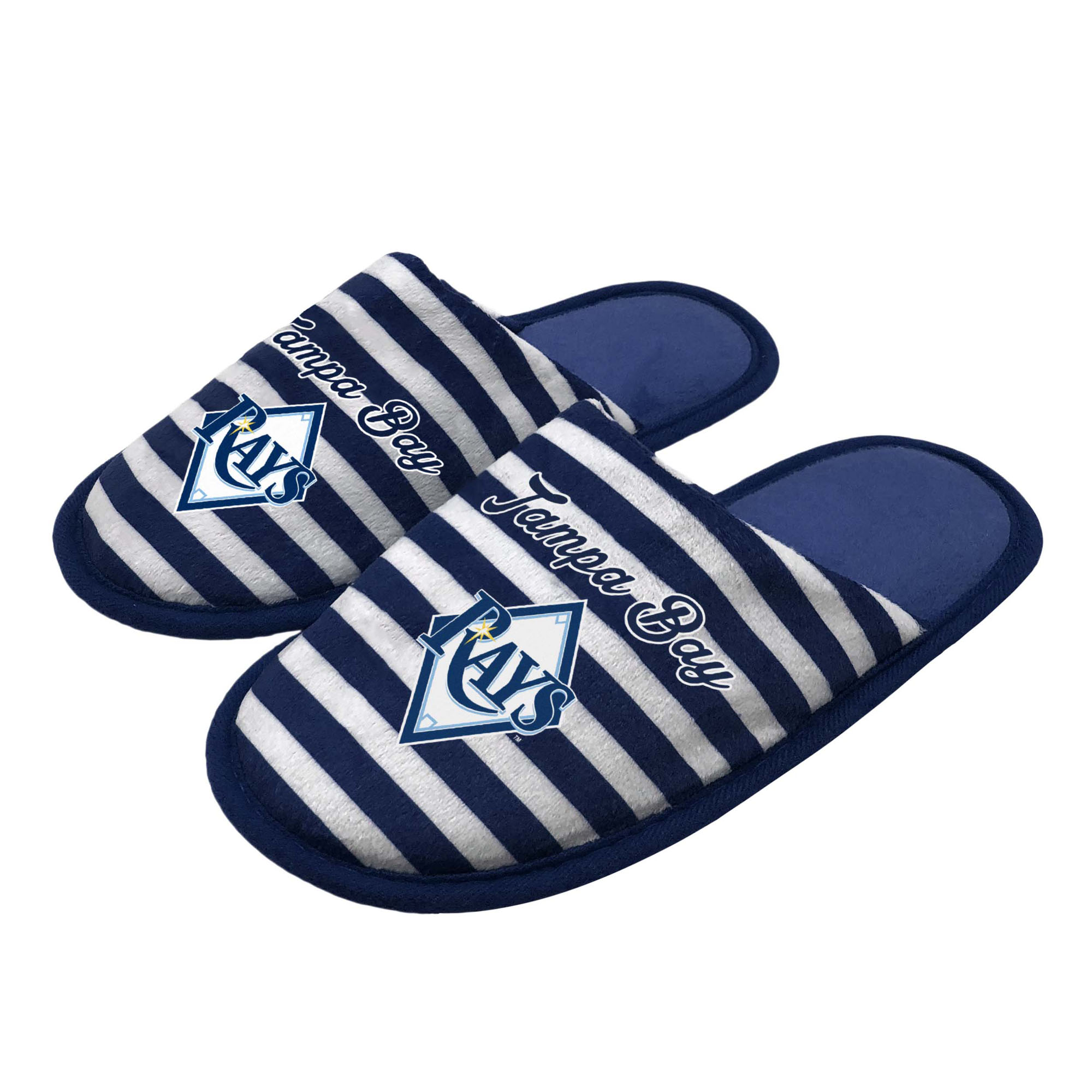 Tampa Bay Rays Women's Scuff Slippers