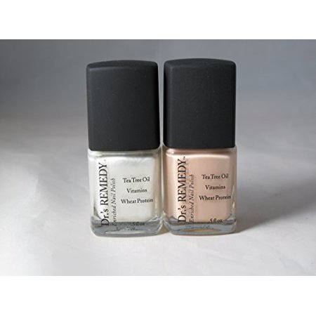Dr.\'s Remedy Enriched Nail Polish - French Maid Duo (Wisdom White ...