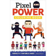 Design Originals Pixel Power Adult Coloring Book