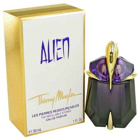 Thierry Mugler Alien Eau De Parfum Spray Refillable for Women 1 oz