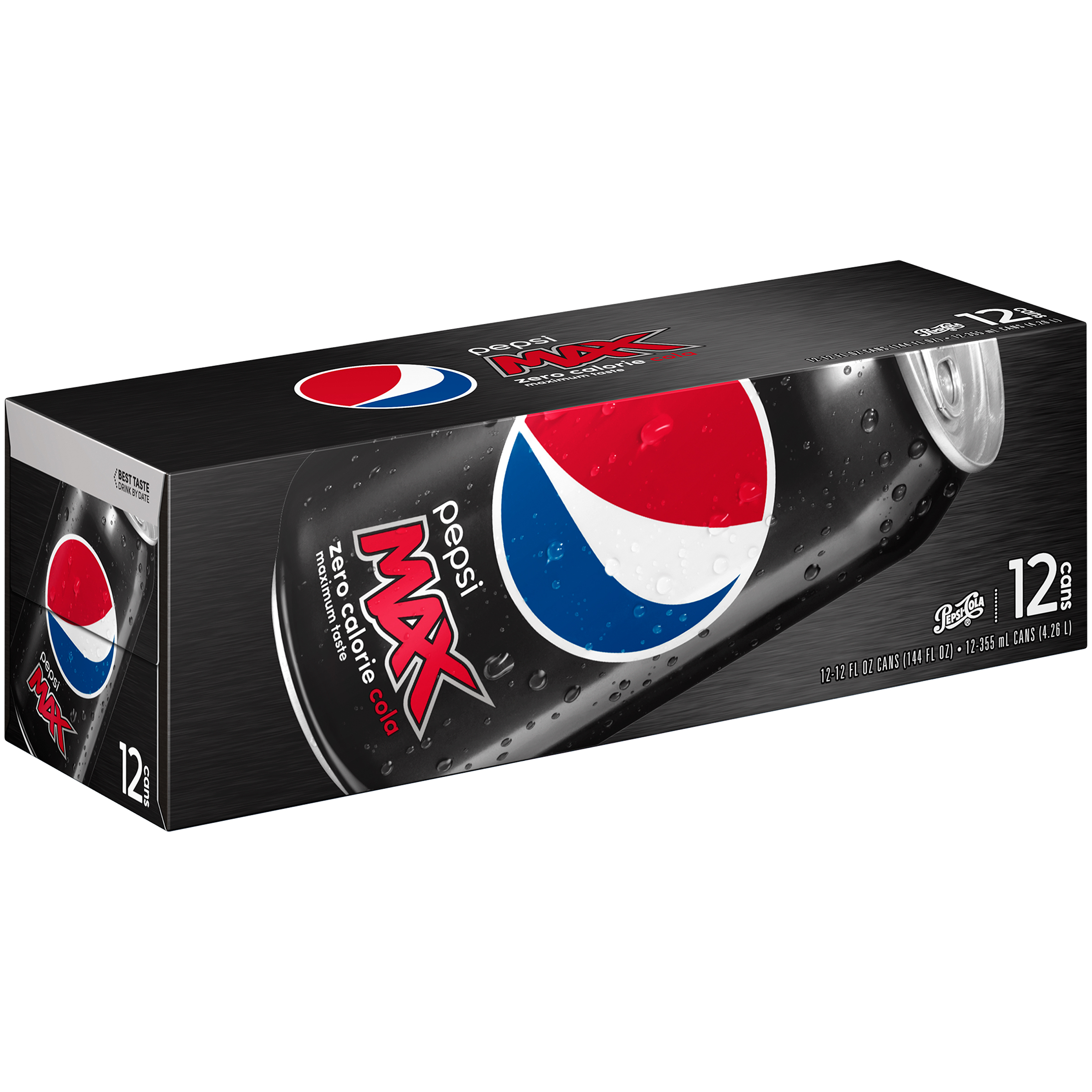 Pepsi Max® 12 Pack 12 fl. oz. Cans