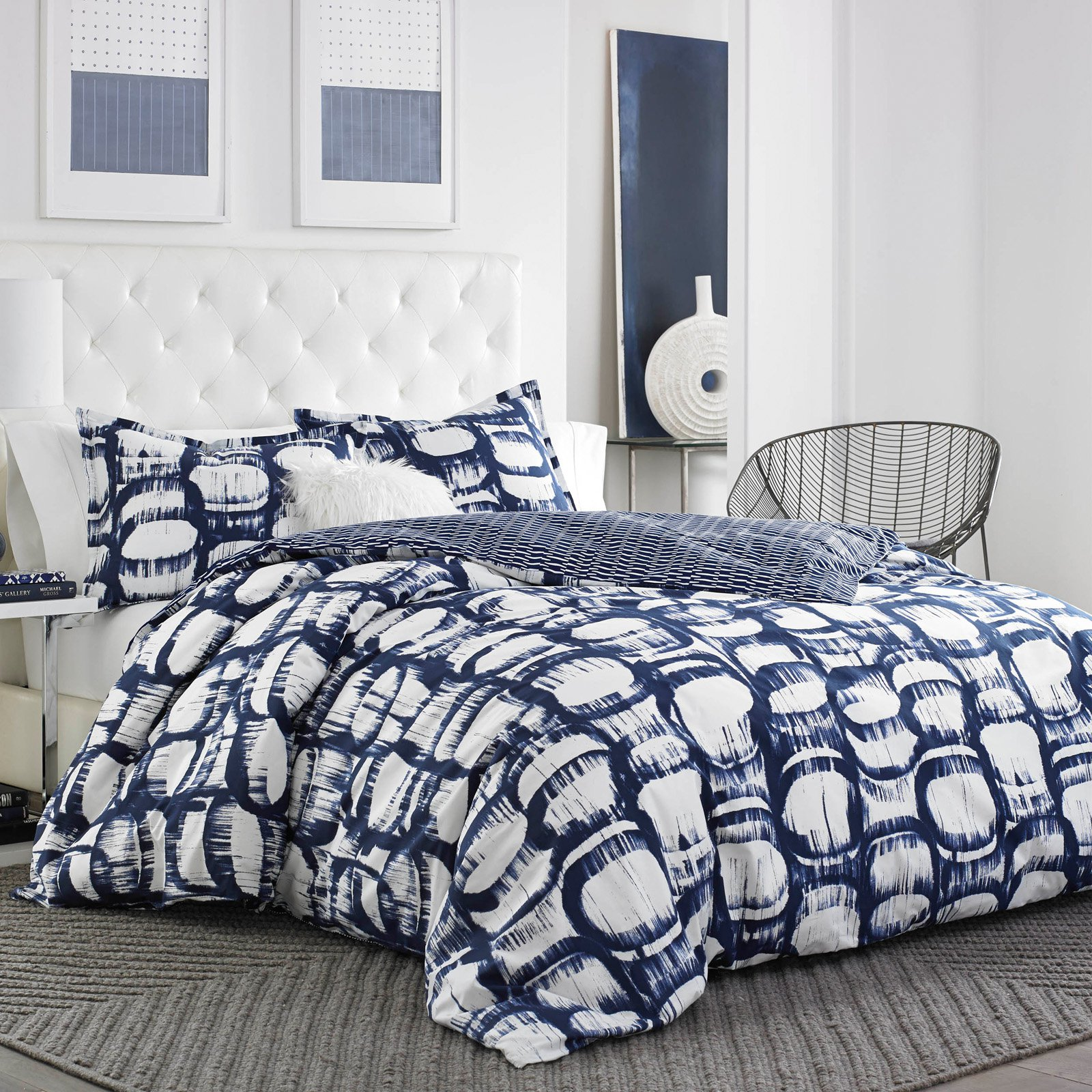 Liam Cotton Duvet Cover Set by City Scene