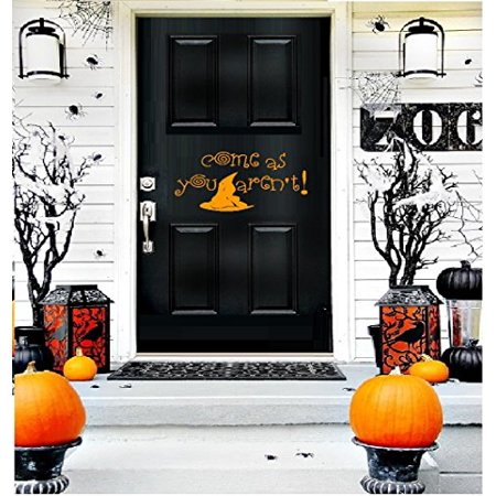HALLOWEEN DECOR ~ COME AS YOU AREN'T ~ HALLOWEEN: WALL OR WINDOW DECAL, HOME DECOR 7