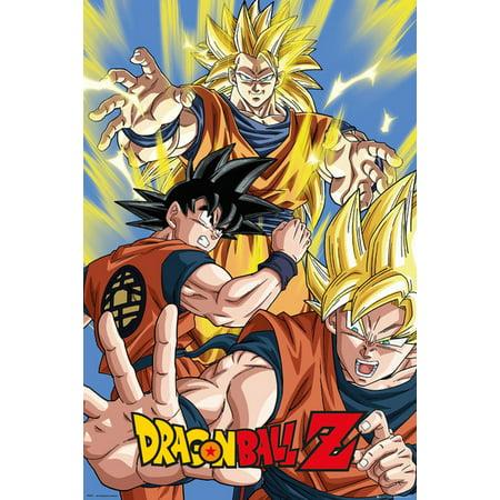 Dragonball Z - TV Show Poster / Print (Goku Collage) (Size: 24