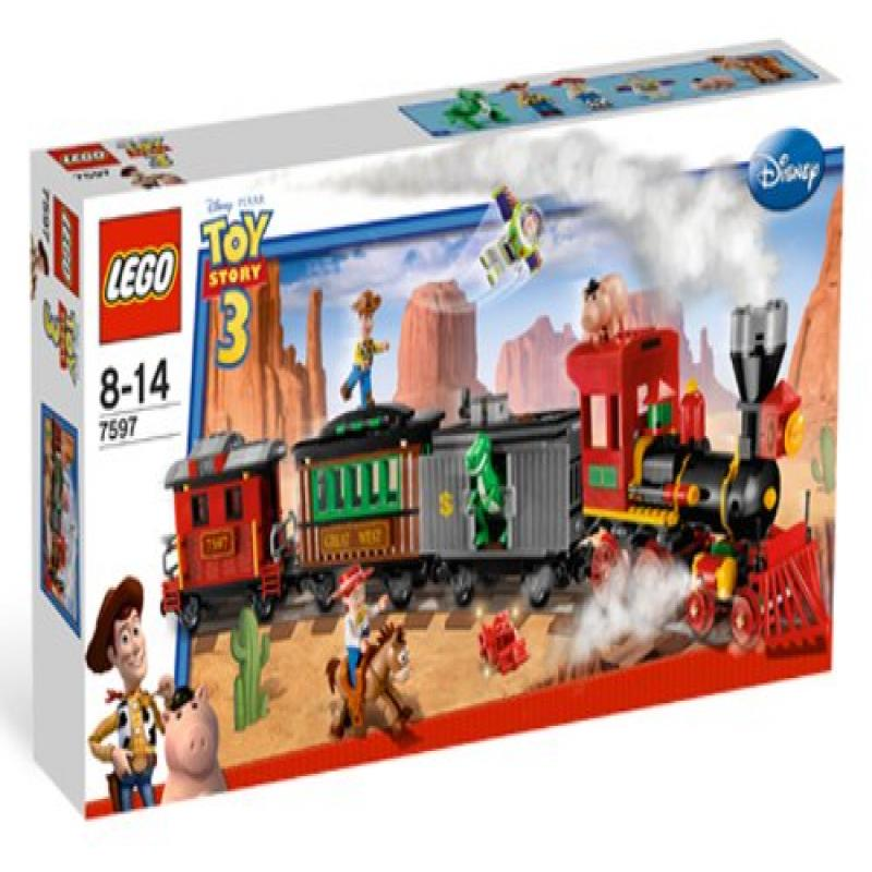 Lego Toy Story Western Train Chase (7597) by