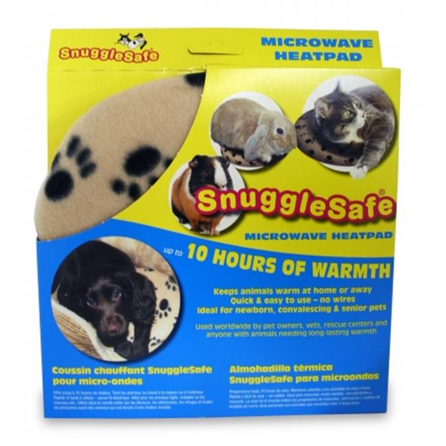 Pet Fulfillment 024PSI01-6250 SnuggleSafe Microwavable Heat Pad  - 9 in. Diameter
