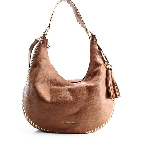 ff7d899852d8 michael kors new brown acorn leather lauryn large shoulder tote bag -  Walmart.com