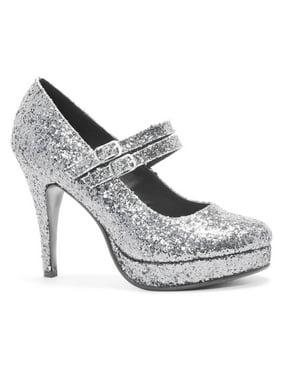 154b99ad5c4 Silver ELLIE SHOES All Womens Shoes - Walmart.com