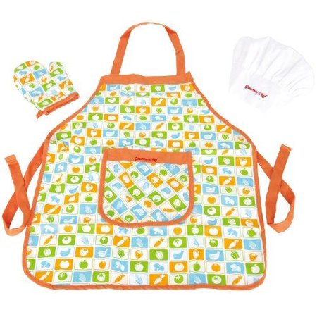 Hape Kid's Chef Apron Set Pretend Play - E3119 - image 4 of 4