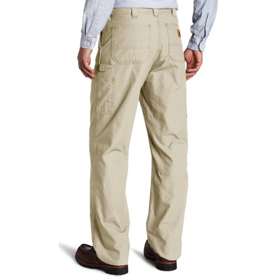 adfdca1f11 ... at the natural waist 19-in leg openings fit over work boots Machine  wash warm - like colors Imported Carhartt Men's Canvas Work Dungaree B151 ,Tan,31X30