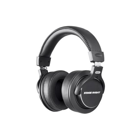 Monoprice Multimedia Studio Reference Monitor Headphones - 53mm | Closed-back - Stage Right - Closed Back Studio Monitor Headphones